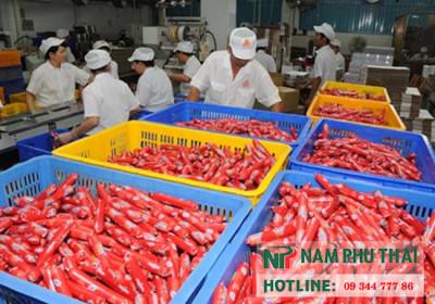kho lạnh bảo quản xúc xích Abaco tại Bắc Ninh