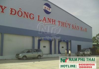 Kho lạnh bảo quản thủy sản K&K tỉnh Đồng Tháp 5