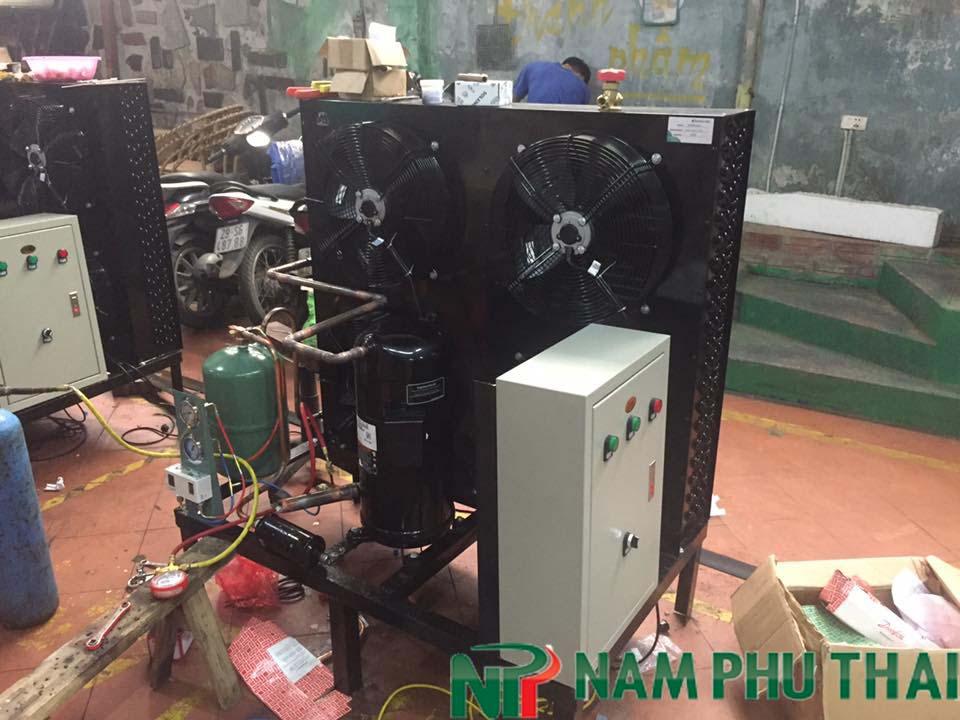 Lắp đặt hệ thống lạnh bảo quản rượu bia nhập khẩu tại Hà Nội 1