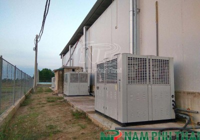 Thiết kế, lắp đặt hệ thống kho lạnh bảo quản khoai tây giống tại Thanh Hoá 1
