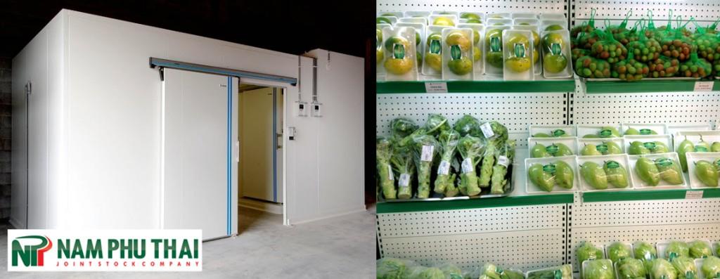 Kho lạnh bảo quản thực phẩm 2