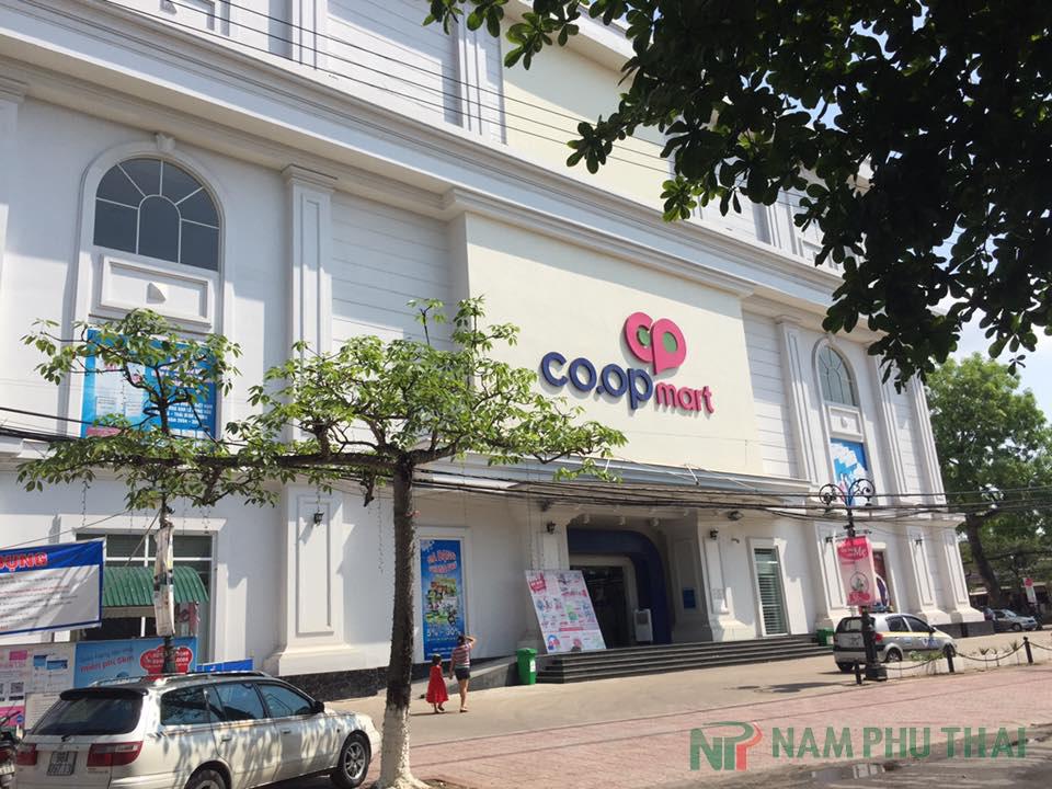 Bảo dưỡng hệ thống điều hòa và tủ mát cho siêu thị Coopmart Miền Bắc