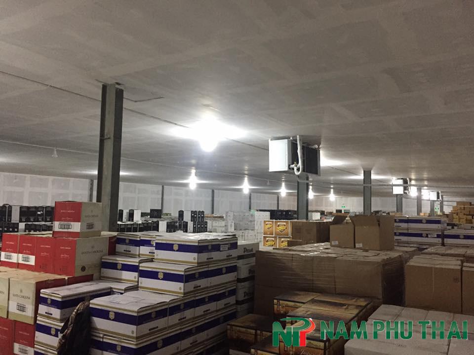 Dự án lắp đặt kho lạnh bảo quản rượu bia nhập khẩu công ty Malthop