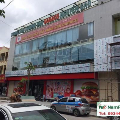 Lắp đặt kho lạnh chuỗi cửa hàng ăn nhanh Lotteria