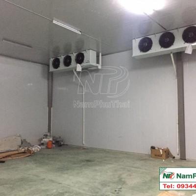 Lắp đặt kho lạnh bảo quản dưa lưới Công ty Vinassed tại Hà Nam