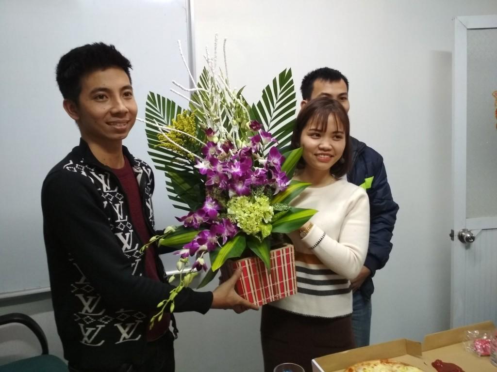 Chúc mừng ngày Quốc tế Phụ nữ 8/3 Nam Phú Thái