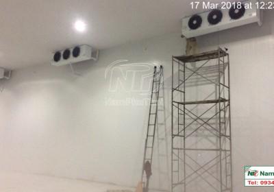 Lắp đặt kho lạnh bảo quản nông sản cho DN TN xuất nhập khẩu Xuân Tín tại Lai Châu 1