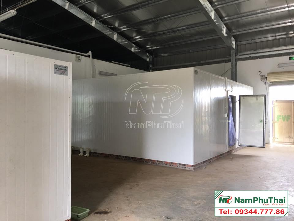 Thi công lắp đặt kho lạnh bảo quản tại hà nội